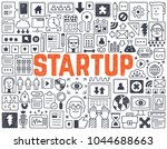 startup   hand drawn vector...   Shutterstock .eps vector #1044688663