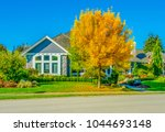 big custom made luxury house... | Shutterstock . vector #1044693148