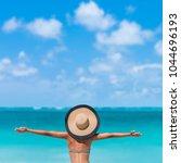 Beach Summer Holidays Woman Happy - Fine Art prints