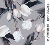 Tulips Seamless Pattern....