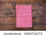 red classic  checkered... | Shutterstock . vector #1044710173