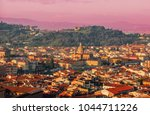 panorama of  florence  italy at ... | Shutterstock . vector #1044711226