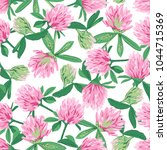 floral seamless pattern with... | Shutterstock . vector #1044715369