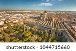 aerial view of great mosque ... | Shutterstock . vector #1044715660