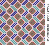 seamless abstract pattern with... | Shutterstock .eps vector #1044719938