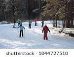 city of zavodoukovsk  tyumen... | Shutterstock . vector #1044727510
