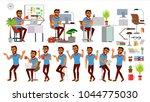 business man character vector.... | Shutterstock .eps vector #1044775030
