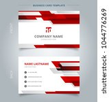 creative business card and name ... | Shutterstock .eps vector #1044776269