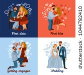 developing love relations... | Shutterstock .eps vector #1044782410