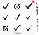 check icons vector | Shutterstock .eps vector #1044784090