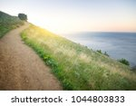 path in the mountains... | Shutterstock . vector #1044803833