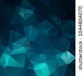 abstract dark blue polygon...   Shutterstock .eps vector #1044804070