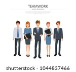 business group people teamwork... | Shutterstock .eps vector #1044837466