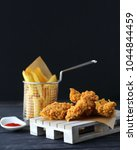 Crispy Chicken Strips With...