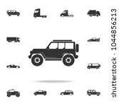 Off Road Car Icon. Detailed Se...