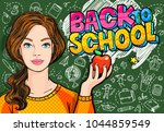 concept of education. young... | Shutterstock .eps vector #1044859549