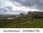 quiraing on the isle of skye in ...   Shutterstock . vector #1044862750