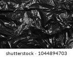 Black Plastic Bag Texture And...