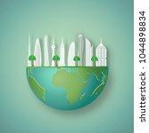 modern buildings cityscape on...   Shutterstock .eps vector #1044898834