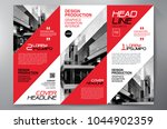 business brochure. flyer design.... | Shutterstock .eps vector #1044902359