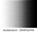 radial halftone pattern texture.... | Shutterstock .eps vector #1044916744
