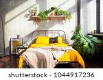 photo of modern bedroom in the... | Shutterstock . vector #1044917236