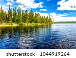 forest river water landscape | Shutterstock . vector #1044919264