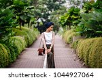 portrait of a young muslim...   Shutterstock . vector #1044927064