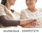 close up of person touching...   Shutterstock . vector #1044927274