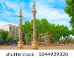 seville  spain   june 08  2017  ... | Shutterstock . vector #1044929320