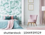 comfortable  pale pink ... | Shutterstock . vector #1044939529