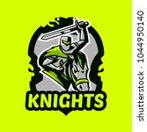 colorful emblem  logo  badge of ... | Shutterstock .eps vector #1044950140