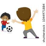 vector illustration of two... | Shutterstock .eps vector #1044971884