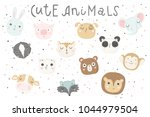 Cute Animals Isolated...