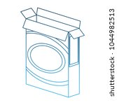 clothes detergent in box | Shutterstock .eps vector #1044982513