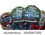 prom balloons that could be... | Shutterstock . vector #1045007350