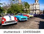 havana  cuba  december 12  2016 ... | Shutterstock . vector #1045036684