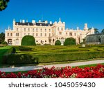 lednice  south moravian region  ... | Shutterstock . vector #1045059430