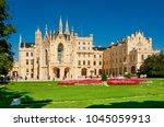 lednice  south moravian region  ... | Shutterstock . vector #1045059913