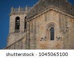 detail of the door and window... | Shutterstock . vector #1045065100