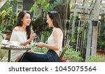 life of generation y teenagers... | Shutterstock . vector #1045075564