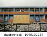 ocean city  maryland  usa ... | Shutterstock . vector #1045102234