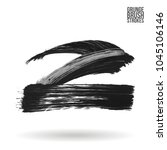 grey brush stroke and texture.... | Shutterstock .eps vector #1045106146