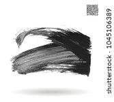 grey brush stroke and texture.... | Shutterstock .eps vector #1045106389