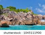 beautiful tropical st. pierre...   Shutterstock . vector #1045111900