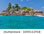 beautiful tropical st. pierre...   Shutterstock . vector #1045111918
