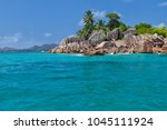 beautiful tropical st. pierre...   Shutterstock . vector #1045111924