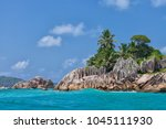 beautiful tropical st. pierre...   Shutterstock . vector #1045111930