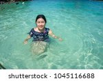 krabi  ao nang   thailand  ... | Shutterstock . vector #1045116688