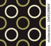 empty planet seamless pattern.... | Shutterstock .eps vector #1045139809